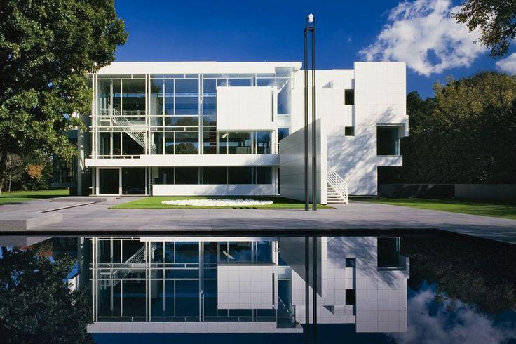 Architect richard meier interview arquitetura casas for Casa moderna jesolo