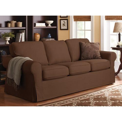 Modern Sofa Better Homes and Gardens Slip Cover Sofa Multiple Colors