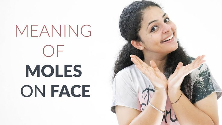 Meaning of Moles on Face in Hindi | Meaning of Moles   Moles are marks which can be found on different parts of the body. In Indian and Chinese Astrology, moles are interpreted as representing the destiny of the person. The influence of the planets on the person would start at the time of fetus formation in the mother's womb. Some planets influence the fetus more and some less.