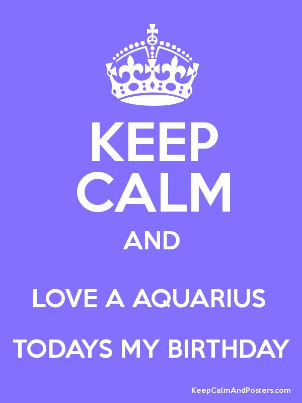 aquarius birthday