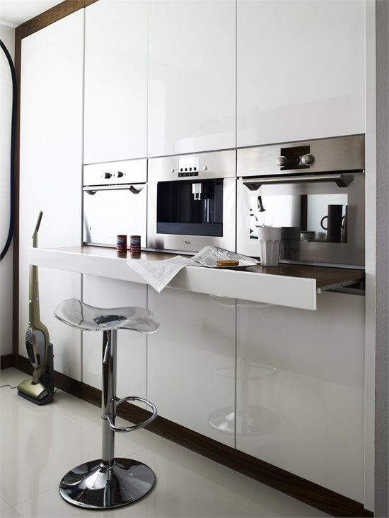 cool feature for resting a dish out of the oven, extra work space, or resting space for a drink bar area.
