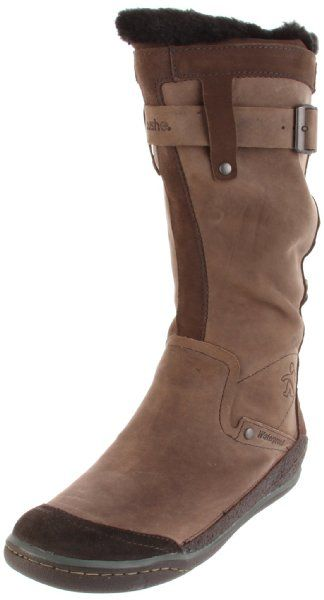 Cushe Women's Manuka Fawn Waterproof Boot (zero drop w/ insole removed, good toe box)