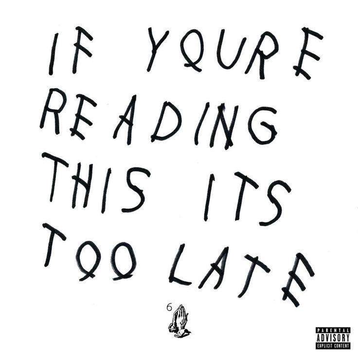 !!CD Worldwide shipping!! #Drake l'album per il 2015 di # IfYouReReadingThisItsTooLate . Vieni a comprarlo in negozio da #CDCLUB in versione CD oppure compralo sul nostro store online! (Clicca sulla copertina) il nuovo album in 24 ore è già a casa tua!! ;)