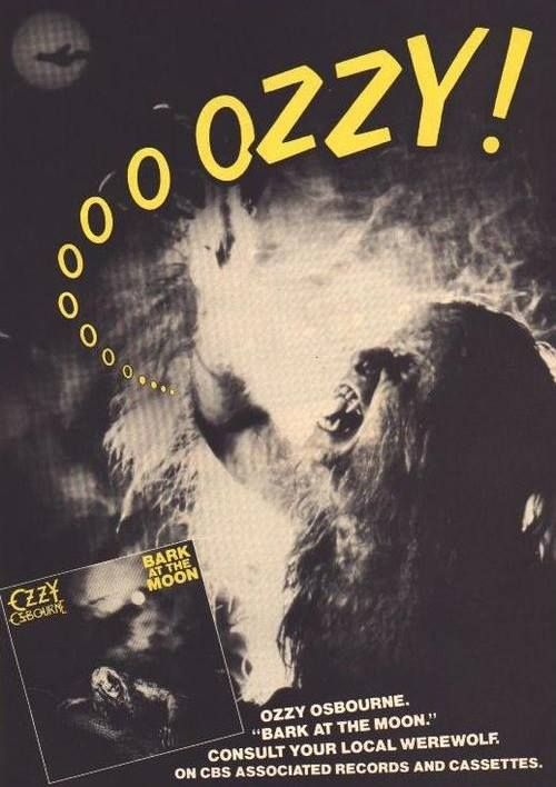 Ozzy Osbourne Bark At The Moon Wallpaper