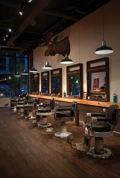 Victory Barber and Brand in Victoria, BC. would love to visit it. Barber  ChairBarbershop IdeasBarbershop DesignSalon InteriorBarber ...