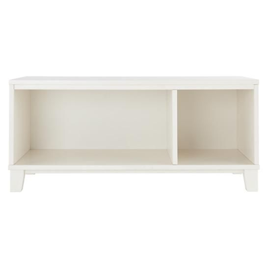 District 2-Cube Storage Frame (White) in Bookcases | The Land of Nod