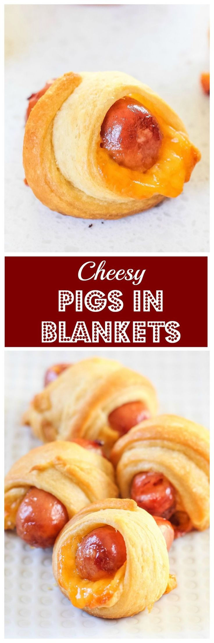 Cheesy Pigs in Blankets - The ultimate football snack!