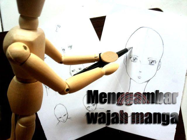Cara menggambar kepala manga dan perspektif | MAYAGAMI