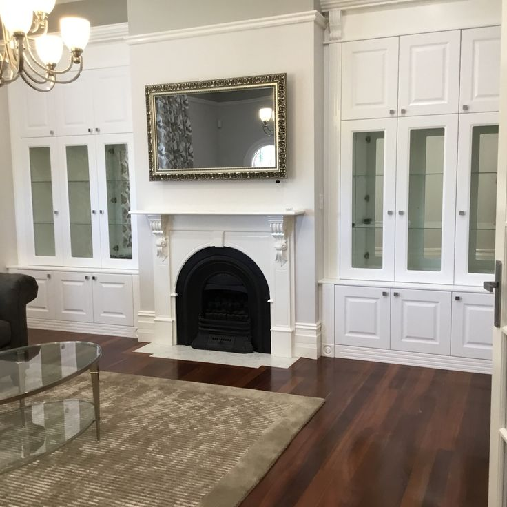 Alliance Robes Beautiful custom Cabinetry. This is a fabulous example of our custom designed painted Regal Range