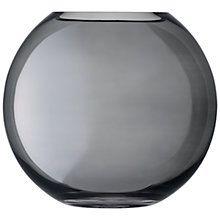 Buy LSA International Polka Glass Vase 24cm, Zinc Online at johnlewis.com