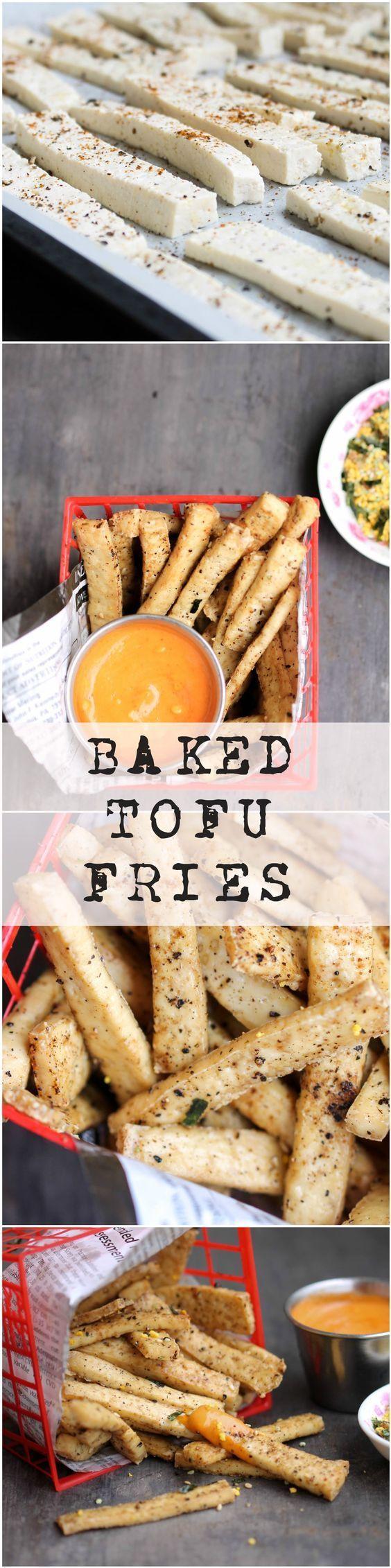 Baked Tofu Fries - Food, Pleasure, and Health                                                                                                                                                                                 More