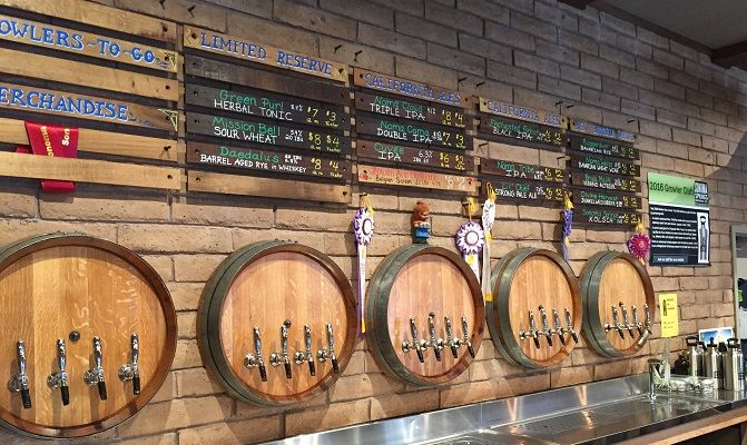 Taste a flight of unique and traditional style beers at Sonoma Springs Brewery!