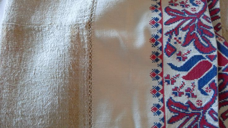 Mattress cover from a dowry bed. Transylvania, parna.co.uk