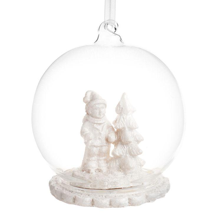 Pallina di Natale nordico Nano da giardino   - Venduto x 4