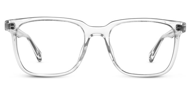 Chamberlain Eyeglasses in Crystal for Men