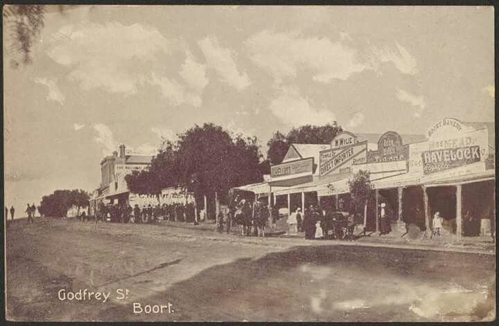 Godfrey Street in Boort,Victoria in c.a. 1906. State Library of Victoria.