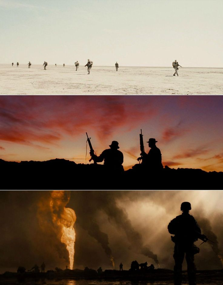 Jarhead (2005) | cinematography by Roger Deakins | directed by Sam Mendes