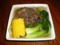 This Bulalo Recipe is also called beef shank soup. This is a perfect cold weather food. This is one Filipino Soup Recipe that you will surely love.