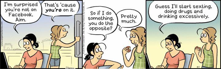 Pajama Diaries Comic Strip for August 01, 2014 | Comics Kingdom