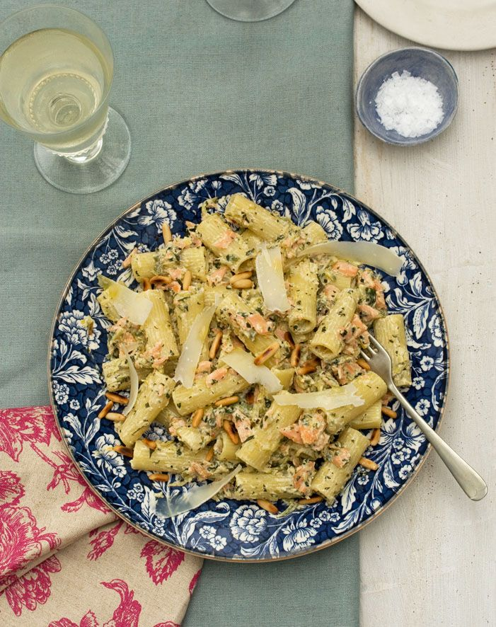 Recipe smoked trout pasta