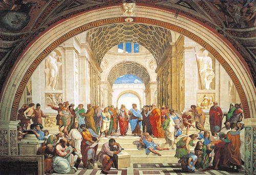 Clementoni 31404.1 -  Raffaello - Die Schule von Athen, 1000 teilig