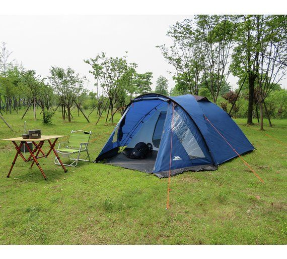 more photos a5f5e e8e1c Trespass 4 Man 1 Room Dome Camping Tent | Camping | Tent ...