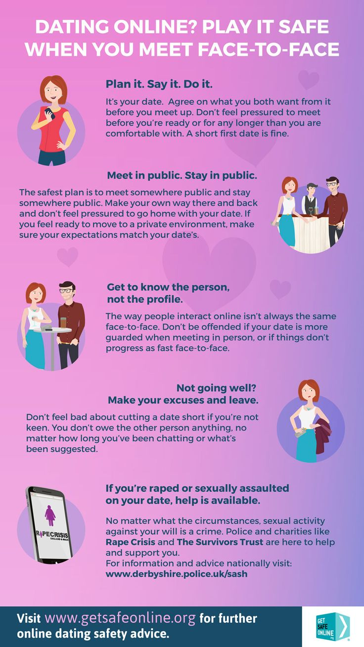 Safety tips for online dating sites