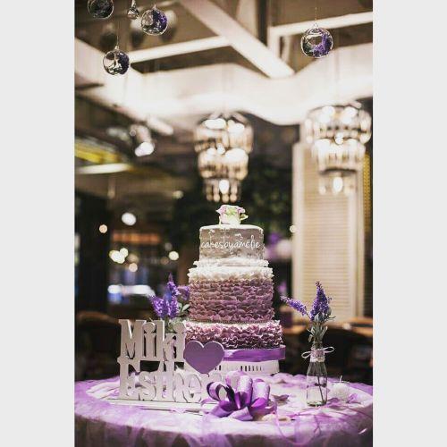 Foto kue pernikahan oleh Cakes by Amélie