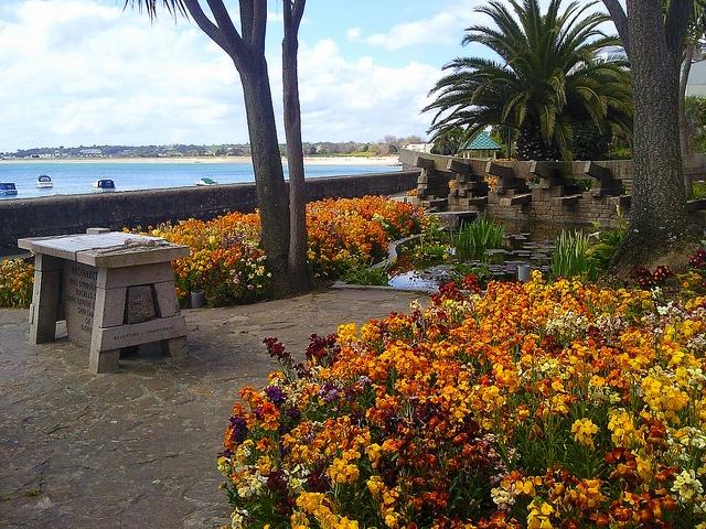 Gorey Gardens Jersey, Channel Islands.