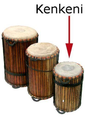 Ghana Kenkeni Dunun Drum - African Hand Drum - New! by Africa Heartwood Project .org. $199.95. This kenkeni is part of the Classic line of imported drums from Africa Heartwood Project, suited for drumming in classrooms, rehearsals, and drum circles. The kenkeni (smallest) in the set of three is the highest tone of the dunun, and is typically considered the time/tempo keeper of the ensemble. The Classic Kenkeni Dunun features:   * comes to you tuned up, ready to play out of the...