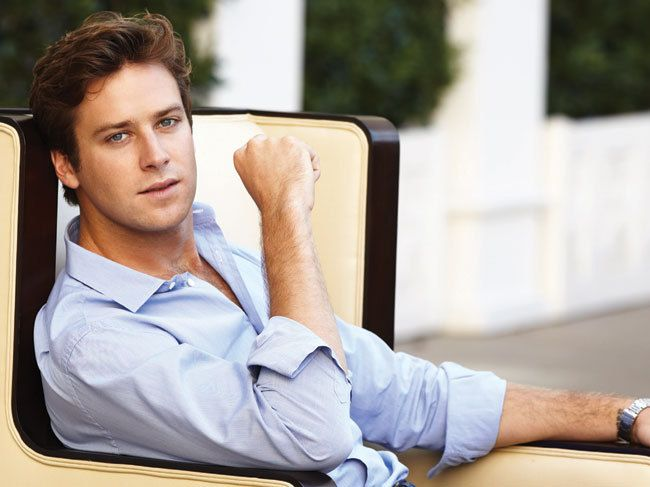 Armie Hammer. Pretty much the only hunk needed for this board to be complete. The rest are gratuitous.