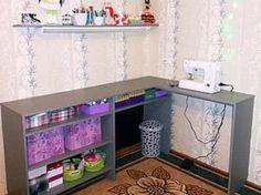 Швейное место из шкафа (Diy) / Мебель / ВТОРАЯ УЛИЦА