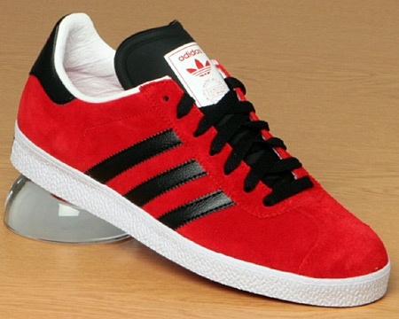 Adidas Gazelle Mens Red