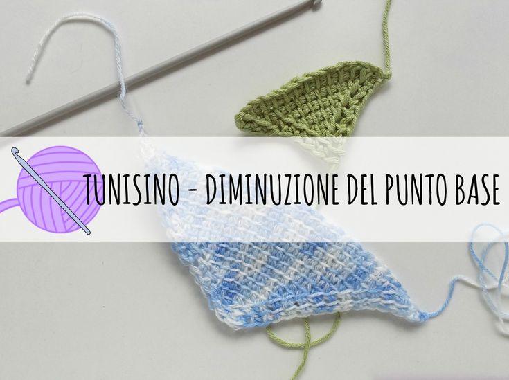 23 best UNCINETTO TUNISINO images on Pinterest | Tunisian crochet ...
