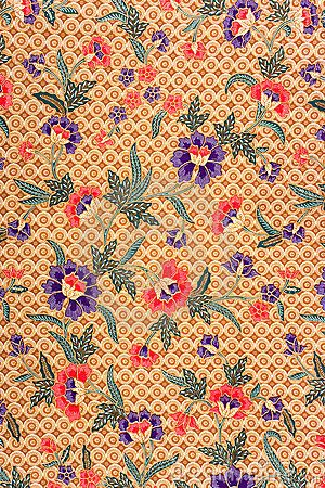 Indonesian Batik Sarong #patterns