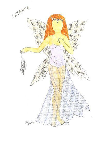 Påklædningsdukker. Alfer og havfruer tegnet af Inger Møller. Fairies and Mermaids by Inger Moller - Yakira Chandrani - Picasa Webalbum