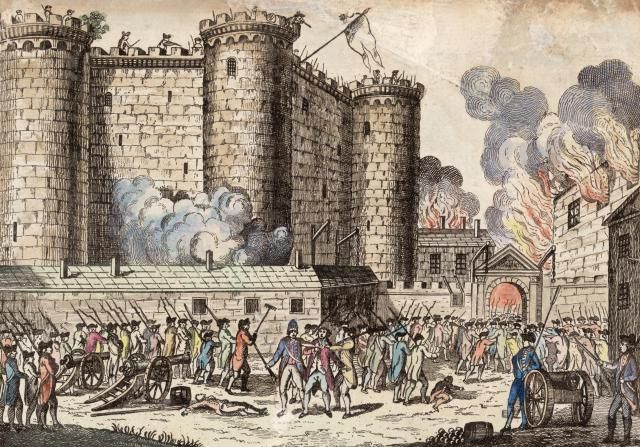 Festive Photos of Bastille Day in Paris: Fireworks, Parades, and More: History of Bastille Day: The Storming of the Bastille