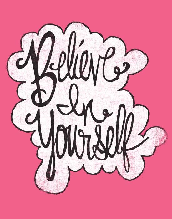 BELIEVE IN YOURSELF By Matthew Taylor Wilson Motivationmonday Print Inspirational Black White Poster Motivational Quote Inspiring