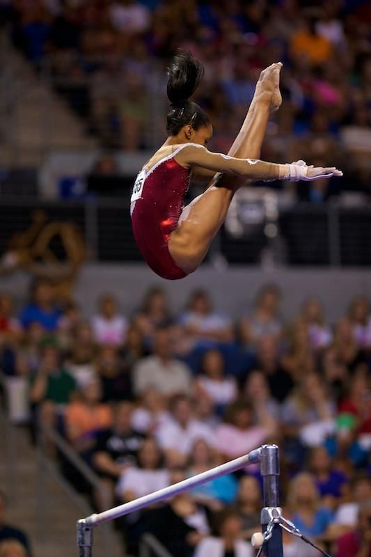 Gabrielle Douglas - I like this so much, I think I've pinned it twice.