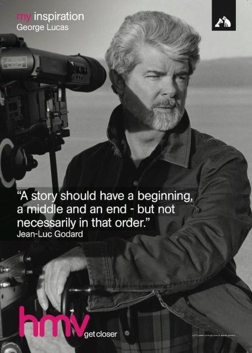 George Lucas - hmv 'My Inspiration'
