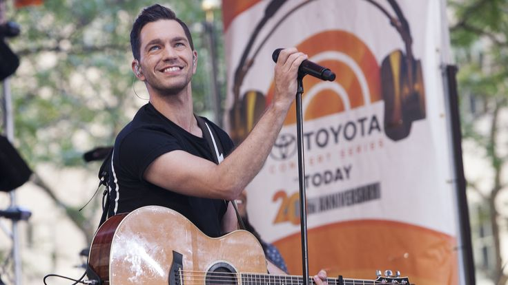 He's good! Andy Grammer hits the TODAY plaza for summer concert series