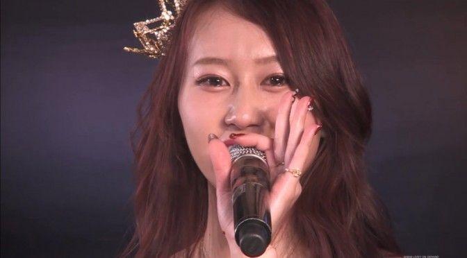 Pertunjukan kelulusan Kobayashi Kana diadakan pada tanggal 31 Maret di AKB48 teater Saat pertunjukan di theater, Kobayashi Kana mengenang