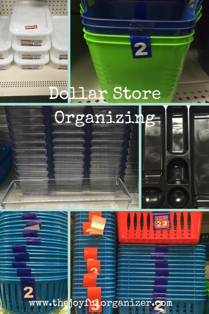 Dollar Store Organizing January 2015 Dollar Stores
