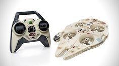 Star Wars im Garten: Millennium-Falke als ferngesteuerte Drohne