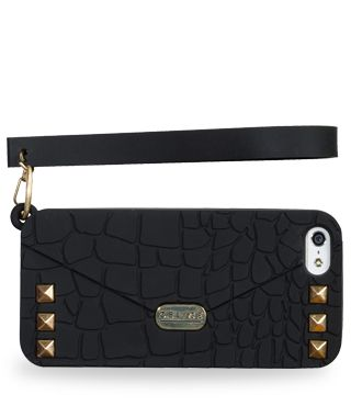 Crocodile will make a cannot-do-without accessory sophisticated. The new iPhone 5 case by Oblige