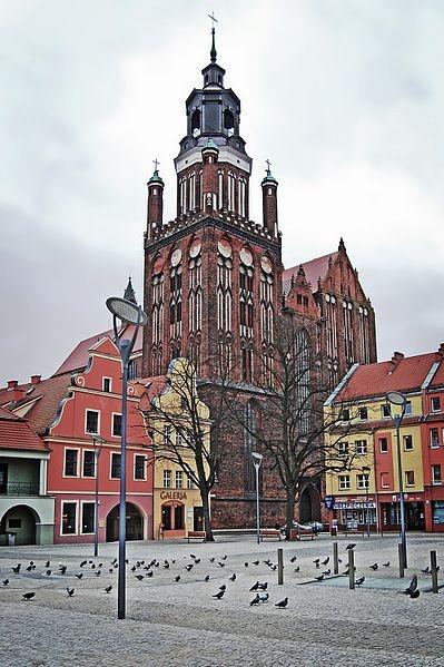 Die Marienstiftskirche in Stargard Szczeciński