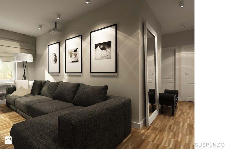 suspenzo_no.18 - Mały salon, styl nowoczesny - zdjęcie od suspenzo architectural group