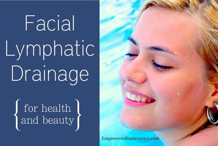 How to do facial lymphatic drainage to slim the face and support detox