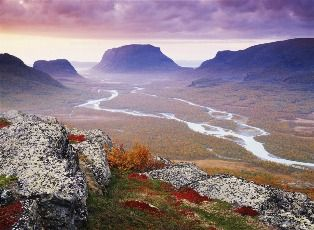 Sarek National Park, Lappland.