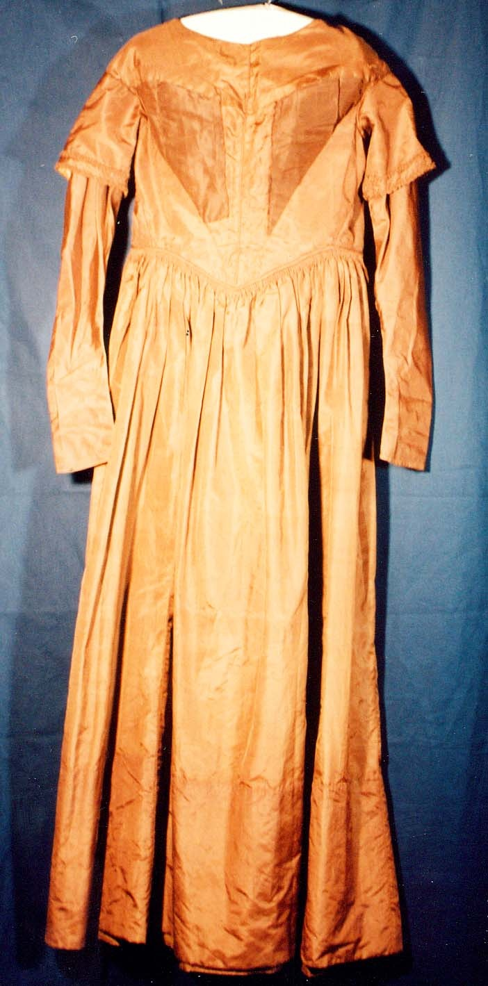 1850 S Silk Dress From The National Historic Oregon Trail